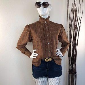 Evan-Picone | 70s Vintage Blouse